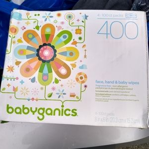 2 boxes of babyganics